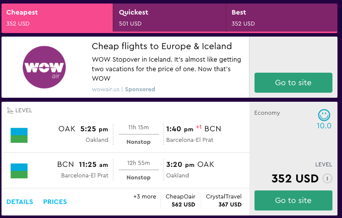 How To Use Google Flights, Momondo, and Skiplagged Dollar Fligtht Club 6