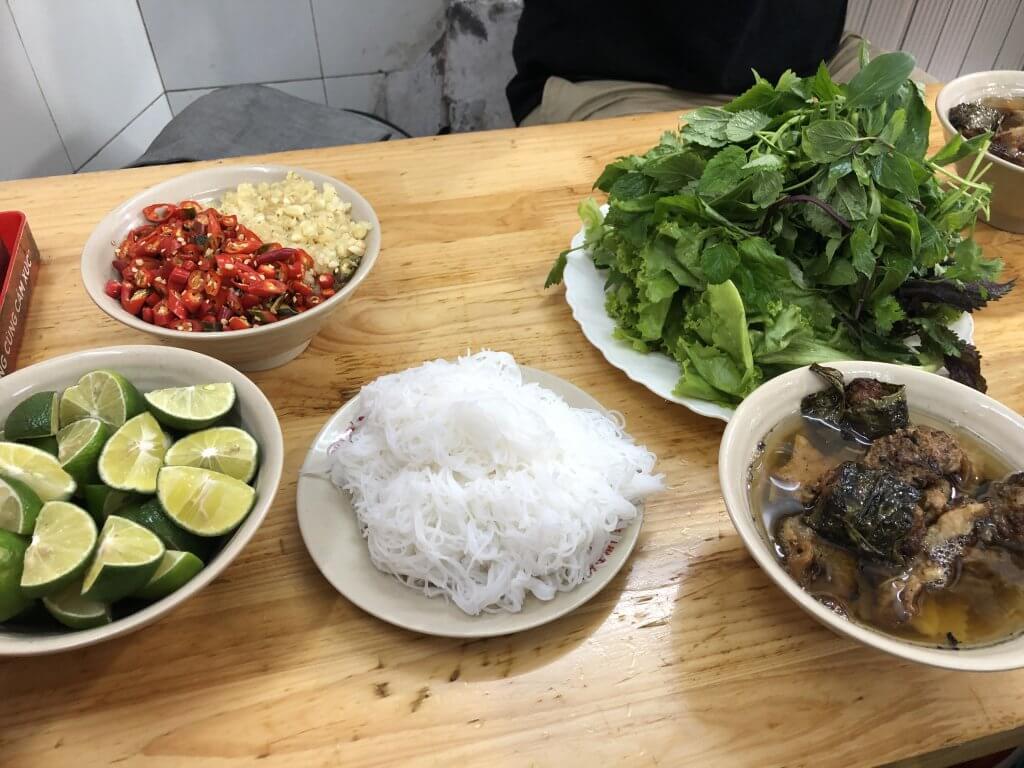 bun cha ingredients
